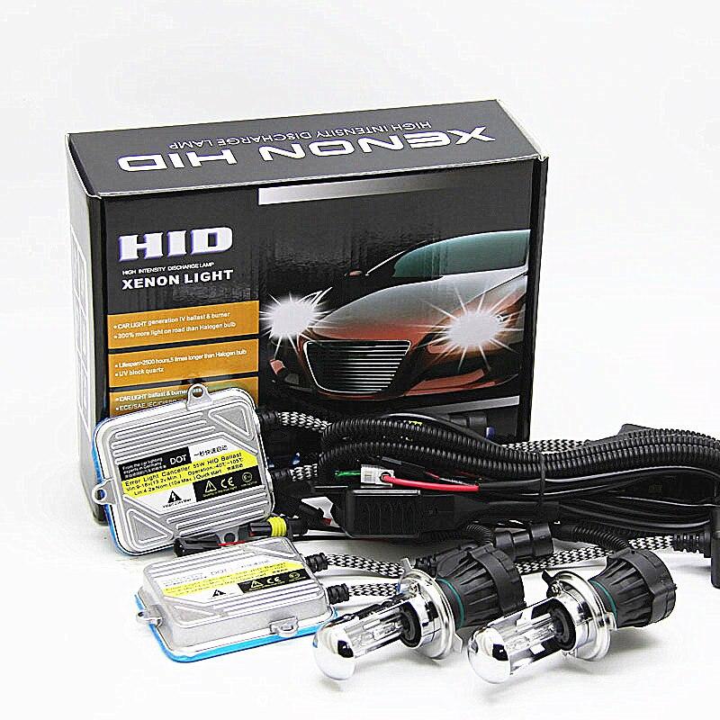 H4 H4-3 Bi Xenon Hi Low Beam Hid Bulbos par con el cableado