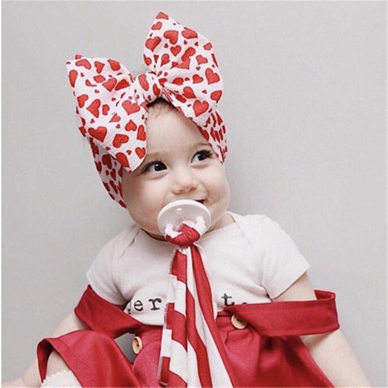 2019 Brand New Infant Headband Newborn Toddler Baby Girl Boy Headwear Solid Bowknot Soft Turban Knot Hairband Baby Shower Gifts
