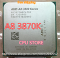 AMD A8-3870K A8 3870K FM1 3.0GHz 4MB 100W CPU processor FM1 scrattered pieces (working 100% Free Shipping)