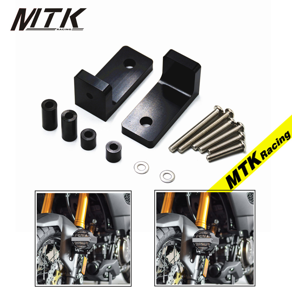 MTKRACING For BMW S1000XR S1000RR S1000R HP4 R nineT M6 Lower Fork Mount Kit with L Lights Bracket Motorcycle parts mccarter s hunt l roberts r ready for ielts teaher s book