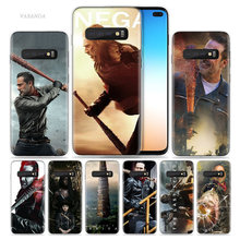 Negan Walking Dead Case for Samsung Galaxy S8 S9 S10 5G S10e S7 Note 8 9 J4 J6 Plus J5 J8 2018 J3 Silicone Capa Phone Bags Cover(China)