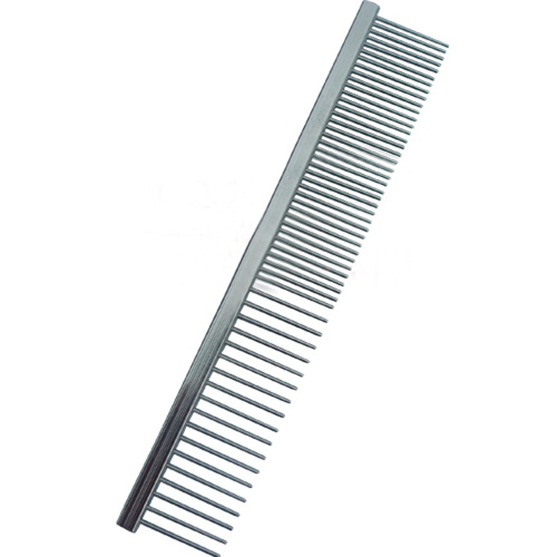 New Trimmer Grooming Comb Brush Stainless Steel Pet Dog Cat Pin Comb Hair Shedding Grooming Flea Comb High Quality Dropship