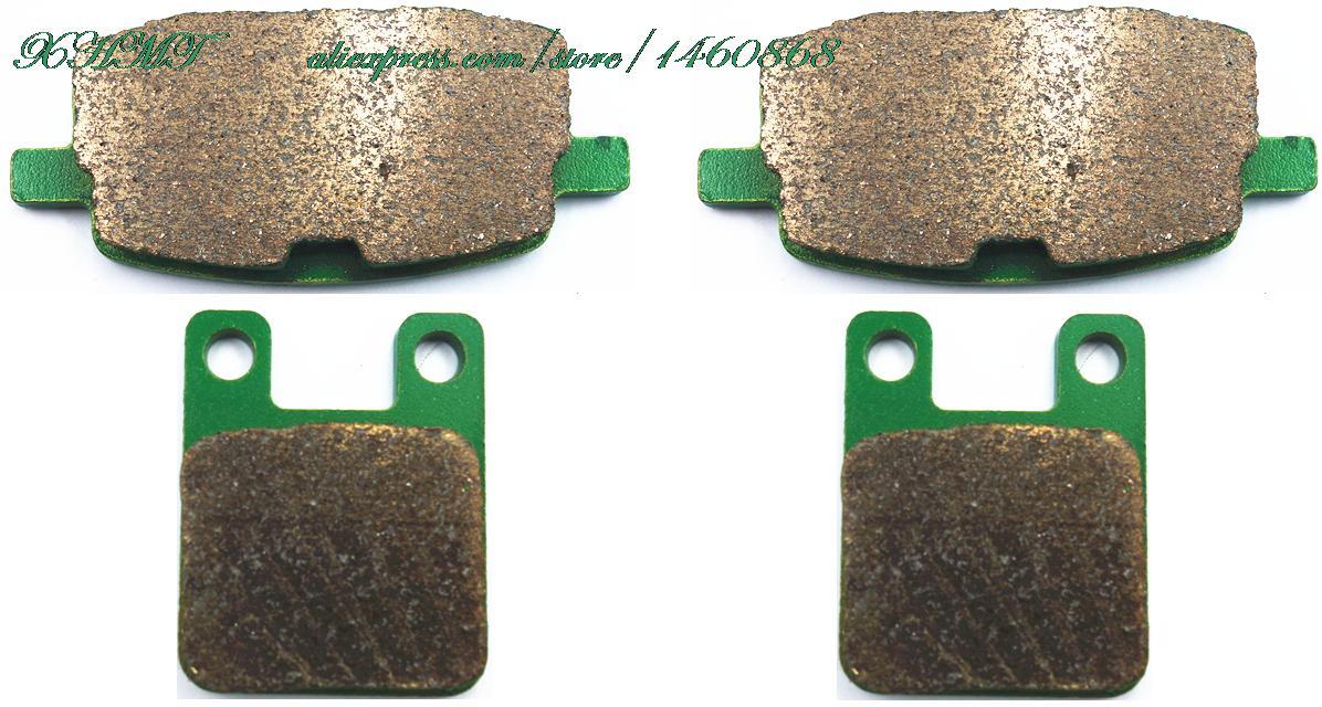 Тормозные колодки колодок для бета 125 Р, Р125 Р - 125 ( питбайке-внешне ) / Р 125 Minimotard 4Т 2008 и выше