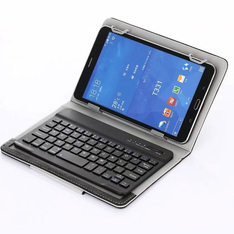 Myslc Keyboard for 10.1 Inch Tablet Lenovo Tab 4 10 Plus TB-X704/Tab 4 10 TB-X304 UNIVERSAL Wireless Bluetooth Keyboard Case wireless removable bluetooth keyboard case cover touchpad for lenovo miix 2 3 300 10 1 thinkpad tablet 1 2 10 ideapad miix