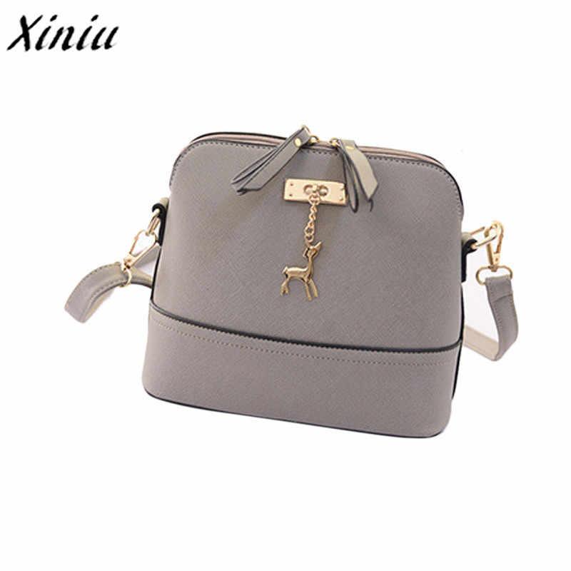 147c47b7429b Detail Feedback Questions about Fashion PU Leather Shoulder Bag Women  Messenger Bags Vintage Small Shell Leather Handbag Casual Bags Ladies  HandBags Clutch ...