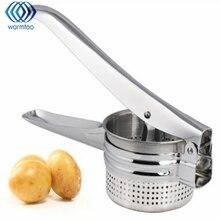Новая нержавеющая сталь картофелечистка Рисер фрукты овощи для пюре фрукты соковыжималка производитель пресс Кухня