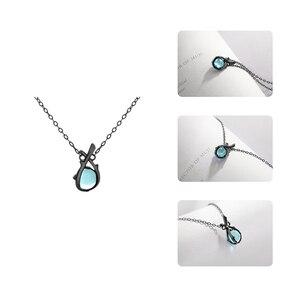 Image 4 - Thaya Original Design Sleeping Beauty Necklace S925  Silver Handmade Crystal Short Collarbone Chain  Jewelry Gift