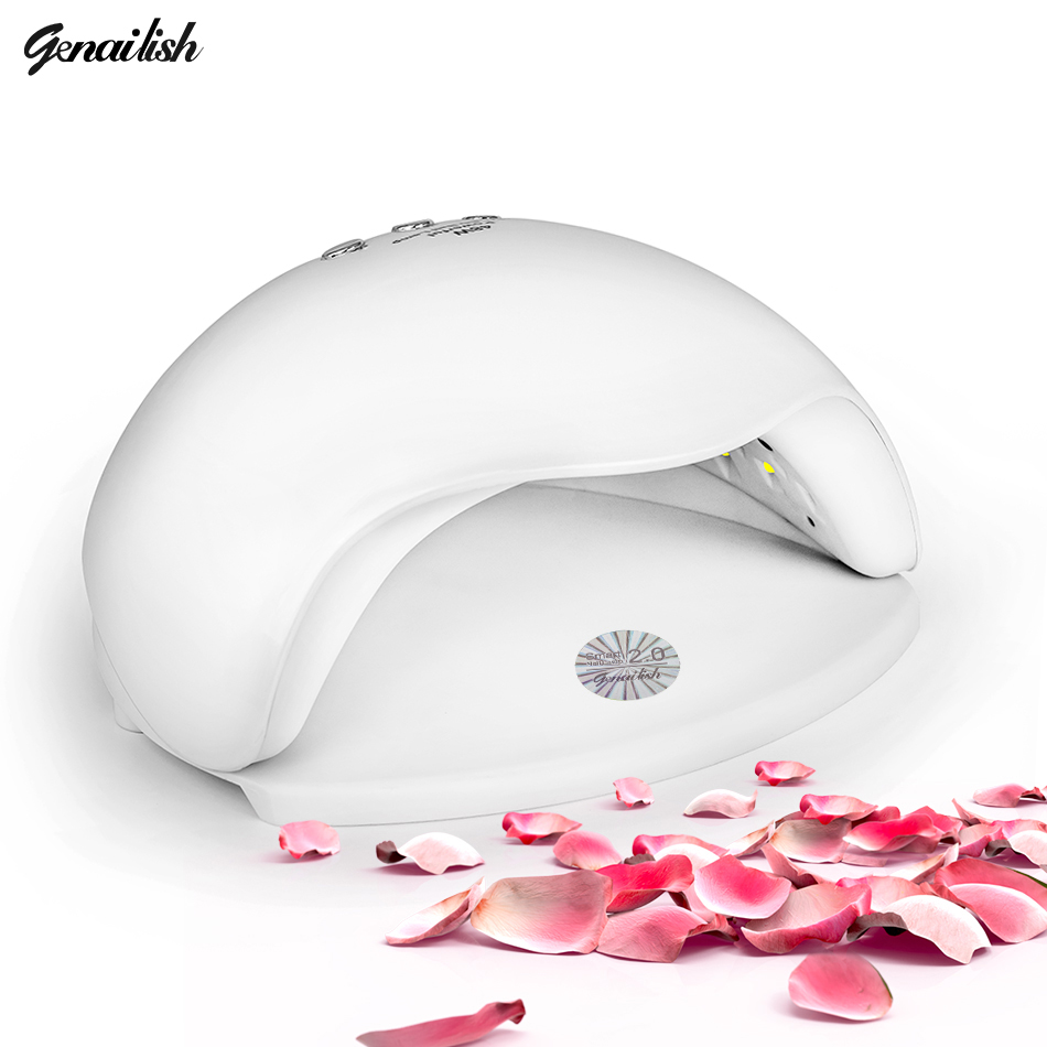 genailish SUN5X UV Lamp LED Lamp Nail Dryer 48W Nail Lamp Double light Auto Sensor Manicure for Curing Nail Gel Polish