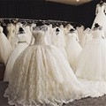 Cathedral Train Wedding Ball Gown Long Sleeve Elegant Ivory Lace Affordable Wedding Dresses Vestido De Noiva De Renda Boda