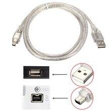 Usb macho para firewire ieee 1394 4 pinos macho ilink adaptador cabo firewire 1394 cabo para sony DCR-TRV75E dv câmera cabo 1.5m/150cm