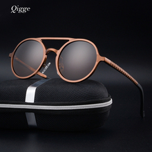 Qigge Brand New Fashion Polarized Sunglasses Men Luxury Male