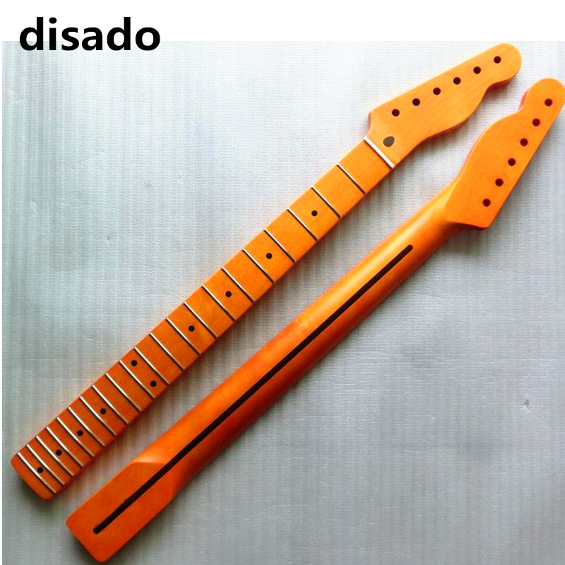 disado 21 Frets inlay dots One Piece maple Electric Guitar Neck Guitar Parts Musical instruments accessories can be customized model relief for cnc in stl file format 3d panno bird 1