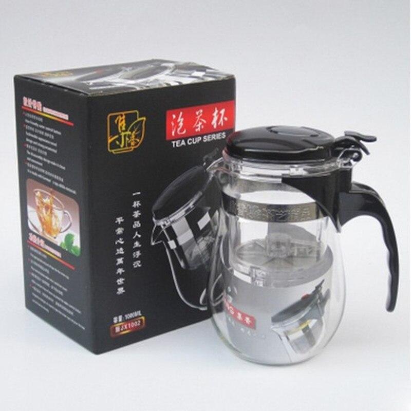 Высококачественный термостойкий стеклянный чайник 500 мл, китайский чайный набор кунг фу, чайный набор, пуэр, чайник, кофейник, стеклянная кофеварка, удобный офисный чайник pot tea pot setpot glass teapot   АлиЭкспресс