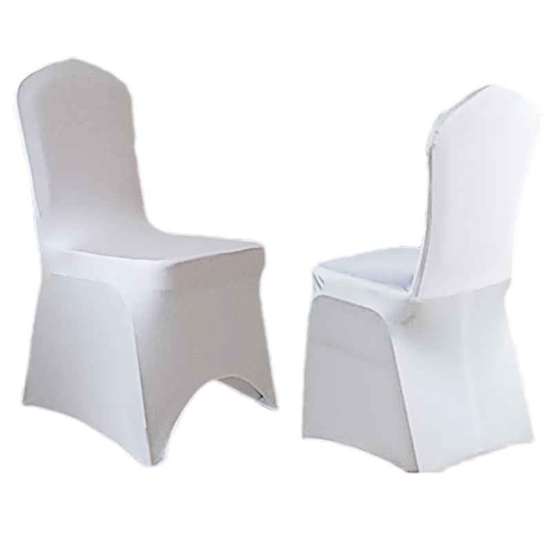 100 Pieces New Style Lycra Spandex <font><b>Chair</b></font> <font><b>Cover</b></font> for Wedding Banquet Party Decoration Products Supply White/Black DHL/EMS Free