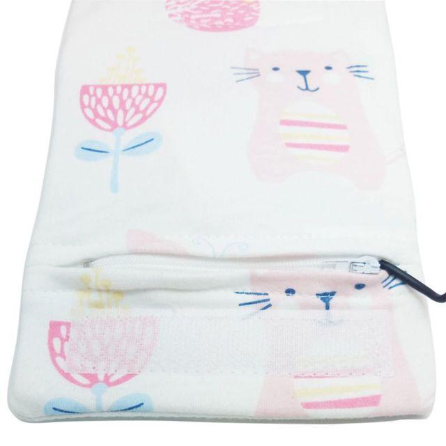 Calentador de agua de leche USB para cochecito de viaje bolsa aislada calentador de biberón para bebé 4
