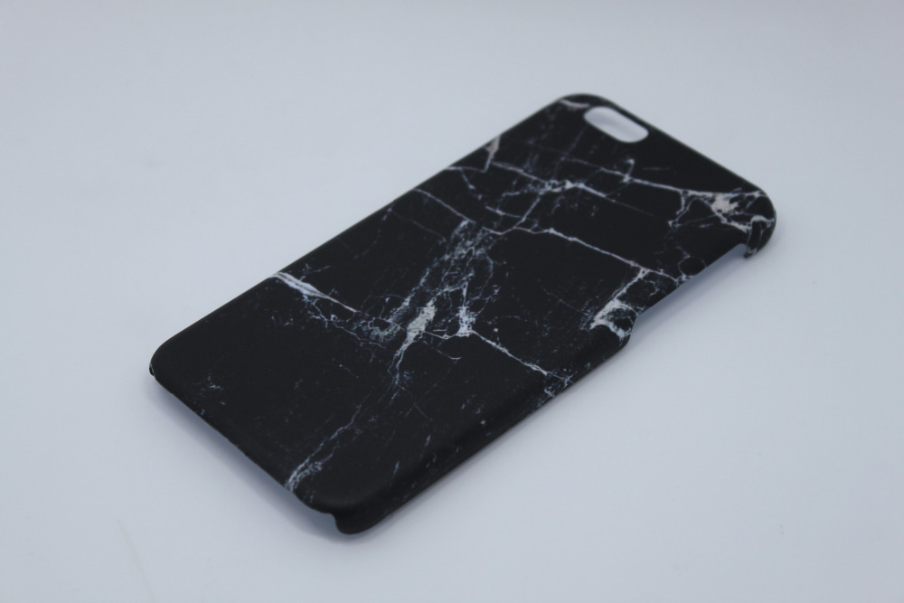 iphone 6 black marble case