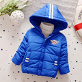2016 new children's down jacket Boys fashion warm coat Kids thick winter Outerwear Baby clothing for 3-5 years old
