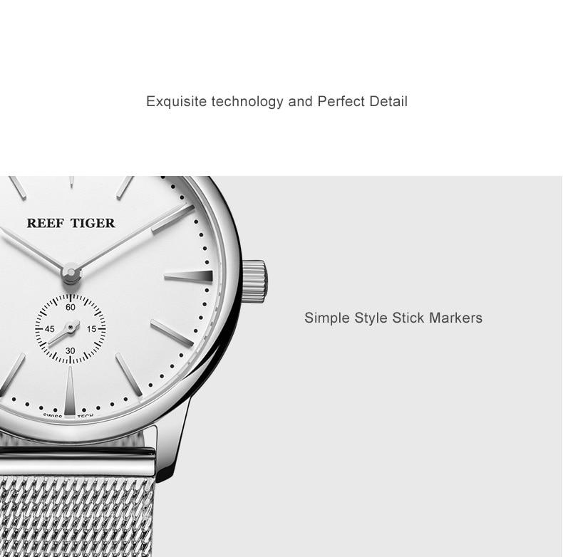 ultra fino amarelo ouro analógico relógios para os amantes rga820
