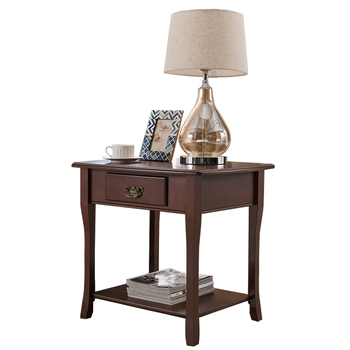 American solid wood side simple sofa cabinet table side cabinet mini corner coffee table square table living room side table mahogany furniture solid wood dining side of ming and qing dynasties tea cabinet classical chinese rosewood cabinet bowl of win