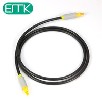 EMK Digital Optical Audio Cable Toslink Gold Plated 1m 1 5m 2m 3m SPDIF Coaxial Cable