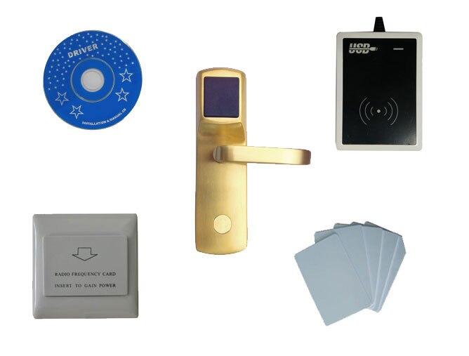 T57 система блокировки отель, включают T57 замок гостиницы, USB гостинице кодер, энергосбережения, T57 карты, sn: ca 8013 kit