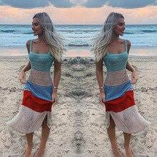 summer dress 2019 vestidos Beach sling party de fiesta vintage clothes casual women sexy top