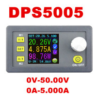 DPS5005 Constant Voltage Current Step Down Programmable Control Supply Power Module Buck Voltage Converter LCD Voltmeter