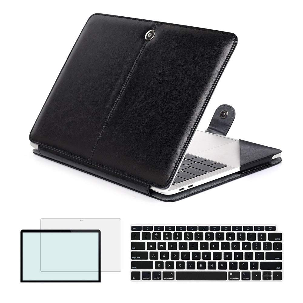 For MacBook Air 13 inch 2018 Release A1932 model Magnetic Holster Pu Leather Case for Newest Macbook Air 13 with Touch IDFor MacBook Air 13 inch 2018 Release A1932 model Magnetic Holster Pu Leather Case for Newest Macbook Air 13 with Touch ID