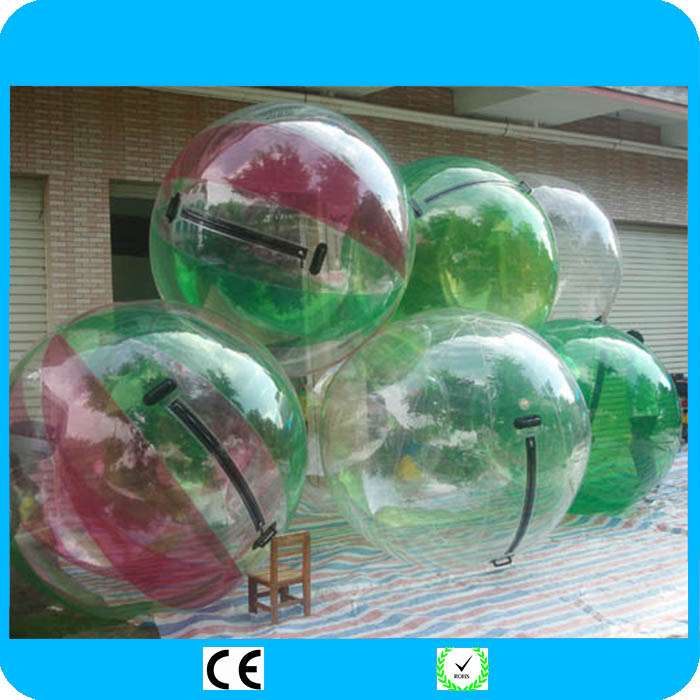 2018 Fede Inflatable Water Walking Ball Water Rolling Ball Water Balloon Zorb Ball Inflatable Human Hamster