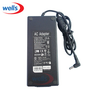 UK / US / EU Adapter Plug & AC110-240V to DC 24V 5A 120W Power Supply