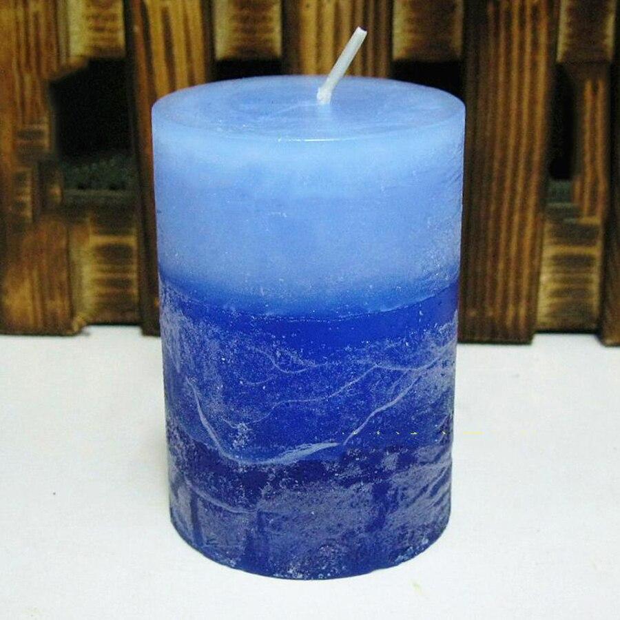 Home Candle Romantic Colorful Smokeless Candles Bougies Wax Birthday Velas Decorativas Weding Decoration 50KO305