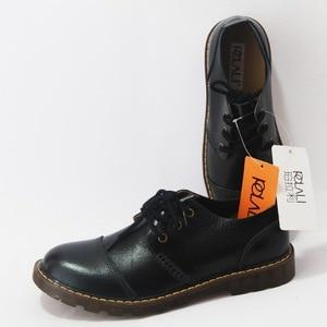 Image 5 - Polali男性の革靴カジュアル新2020本革シューズメンズオックスフォードファッションレースアップドレスシューズ屋外作業靴sapatos