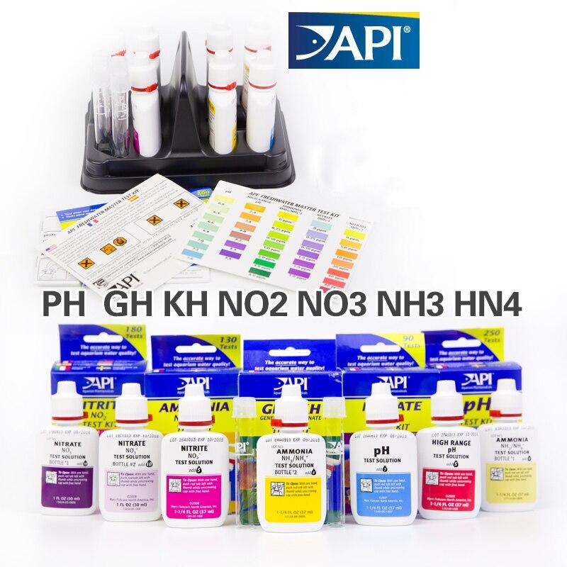 test kit api ca calcium cu i2 kh mg nh4 ammonia no2 nitrite no3