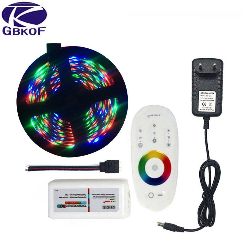 20 m 15 m 10 m 5 m RGB LED Lights Bande 3528 non étanche SMD Flexible RGB Ruban ensemble + MiLight Contrôleur + DC 12 v Alimentation