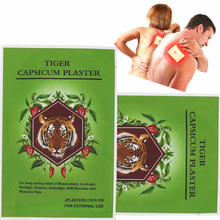 40pcs/lot tiger hot capsicum plaster/ Capsicum Patch with free shipping