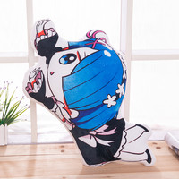 Big size Japan Anime Rem lahm Pillow Cover Case Double sided soft plush toys back cushion birthday gift for your friend