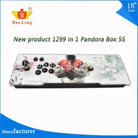 2018 Hot Sale 1299 in 1 5S TV jamma arcade game console with box 5s VGA HDMI output Pandora box 5S