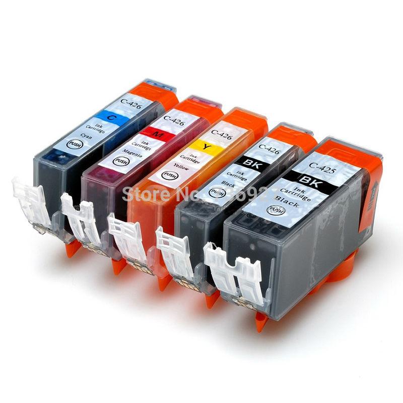 3sets PGI 425 426 Ink Cartridge PGI425 PGI-425 For Canon IP4840 IP4940 IX6540 MG5140 MG5240 MG5340 MX714 MX884 MX894 printer 5 x compatible ink cartridge for canon pgi 425 cli426 pixma ip4840 ip4940 ix6540 mg5140 mg5240 mg5340 mx714 mx884 mx894 printer