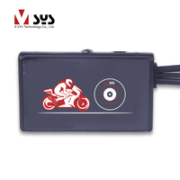 2018 SYS Newest Motorcycle DVR With Song 323 1080P Lens For Front And Rear GC1024 Lens