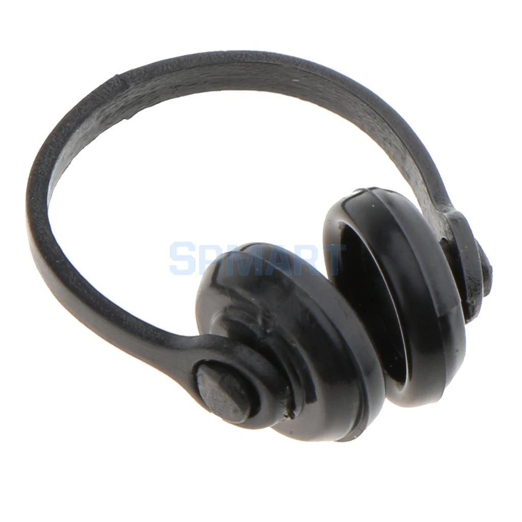1//12 Scale Dollhouse Miniature Accessories Black Earphone Headphone Nice ~ BH