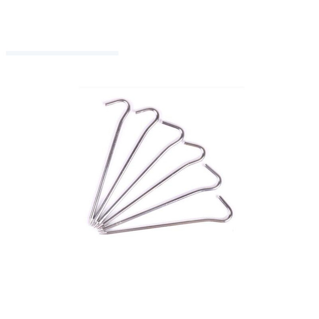 6Pcs/lotTourist C&ing Tent Accessories Beach For Tents Hooks Nail Aluminum Tent Pegs  sc 1 st  AliExpress.com & 6Pcs/lotTourist Camping Tent Accessories Beach For Tents Hooks ...
