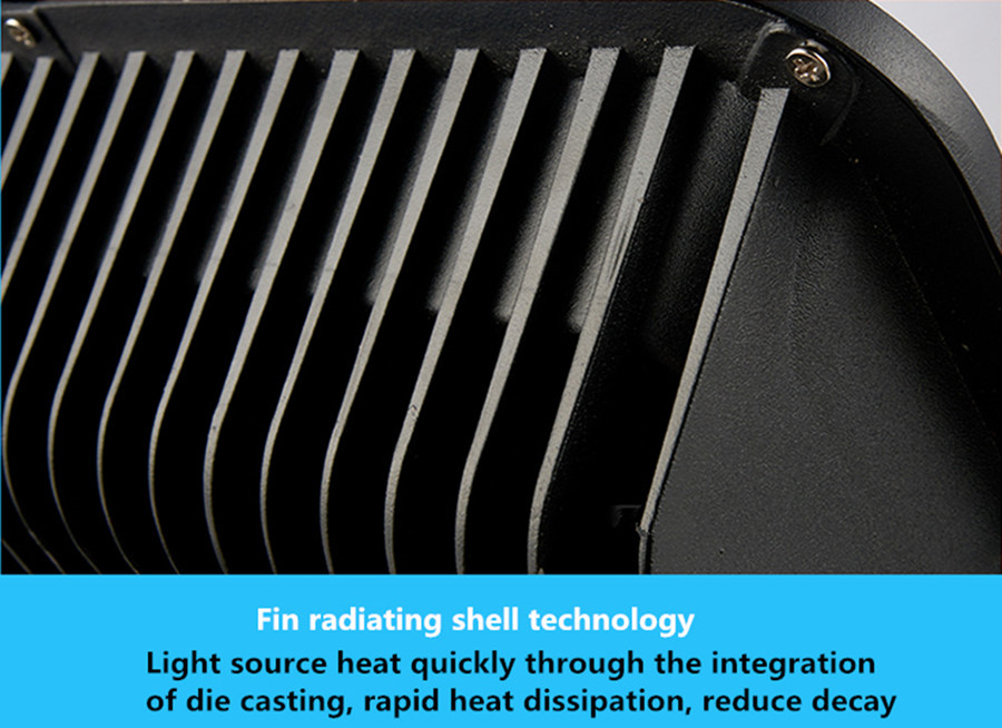200W high power LED floodlight outdoor rain water condensing signs advertising landscape lighting