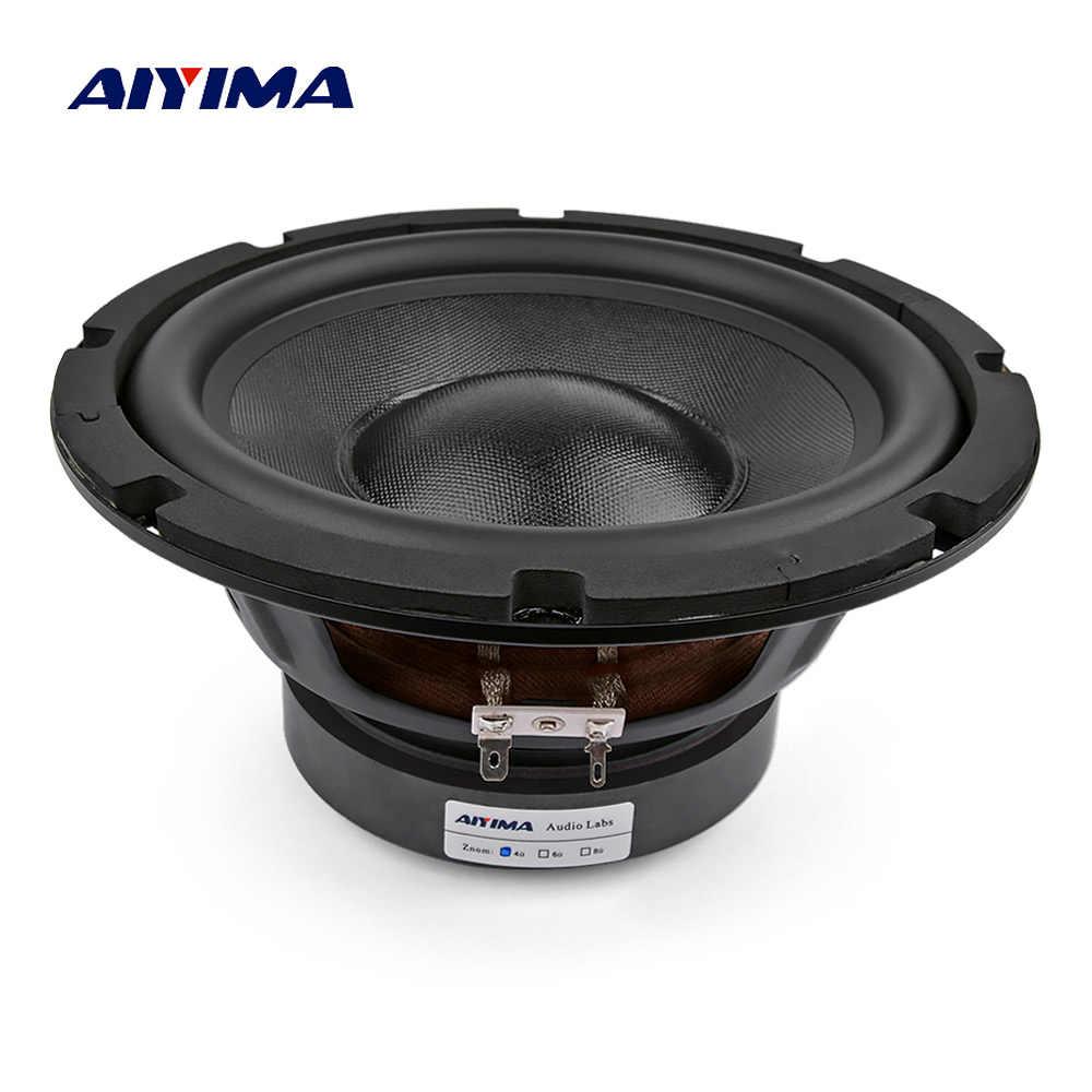 AIYIMA 8 дюймовые сабвуферы НЧ-динамик 4 8 Ом 150 Вт HIFI усилитель Fever Sound громкоговоритель Ses sistemi DIY для домашнего кинотеатра
