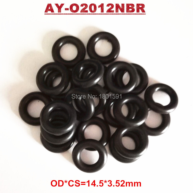 5000pieces universal Nitrile Butadiene Rubber(NBR) seals orings ID7.52*CS3.53mm for fuel injection (AY-O2012NBR)
