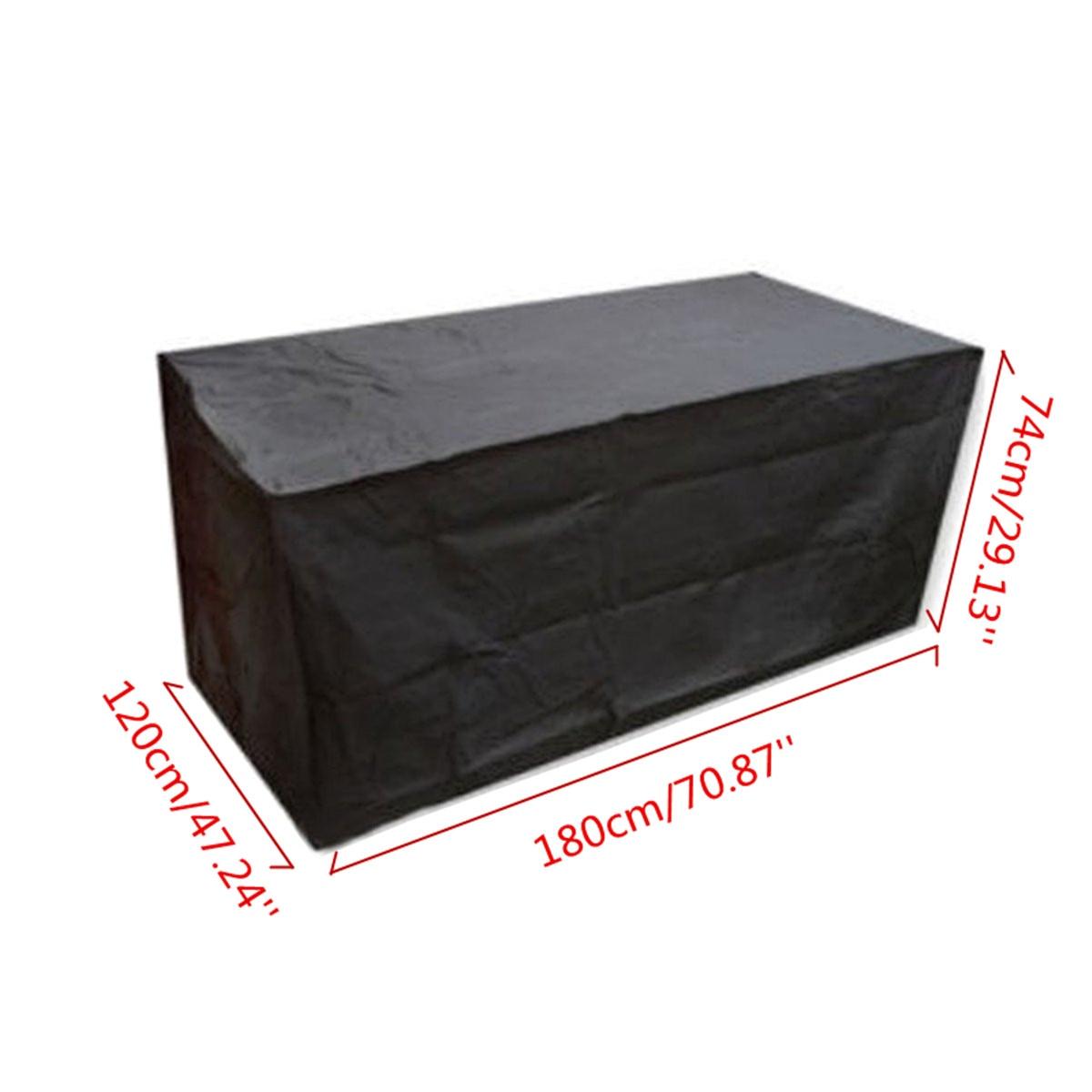 Muebles de exterior Cubiertas para el sofá 180*120*74 cm jardín ...