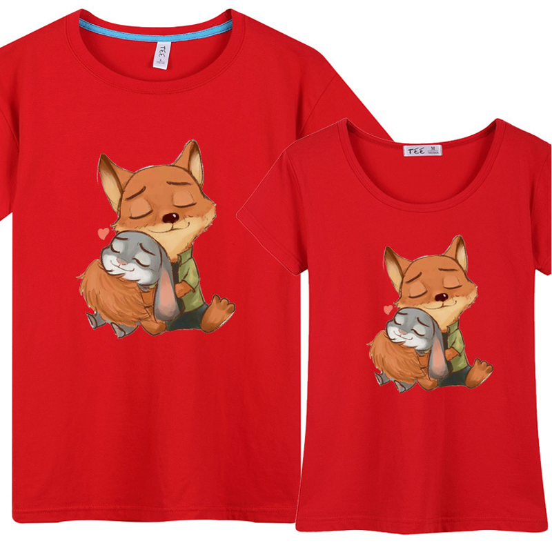 Zootopia Cute T Shirts For Couples