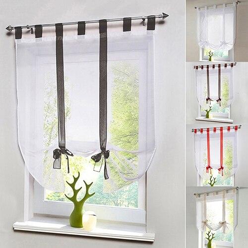 bordado de tul blanco cortinas cortinas para la sala de estar moderna para el dormitorio