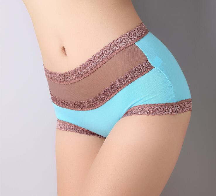 Buy Hot Sale Fashion Women Seamless Ultra-thin Underwear Women's Panties G String Intimates briefs drop shipping