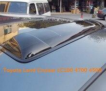 Люк дождь дефлекторы gruard погода shdows Акриловой щиты для Toyota Land Cruiser LC100 4700 4500 2003 ~ 2007