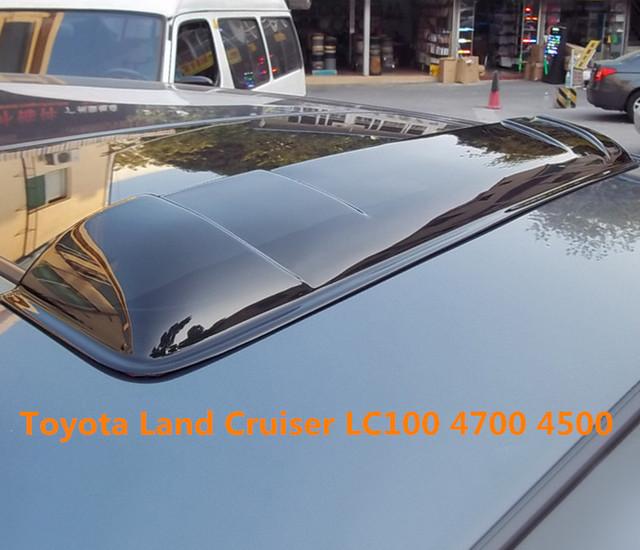 Teto solar escudos defletores de chuva tempo gruard shdows Acrílico para Toyota Land Cruiser LC100 4700 4500 2003 ~ 2007